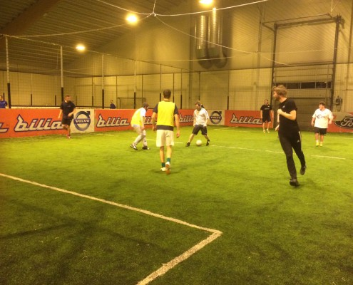 Fotballtrening på Actionball